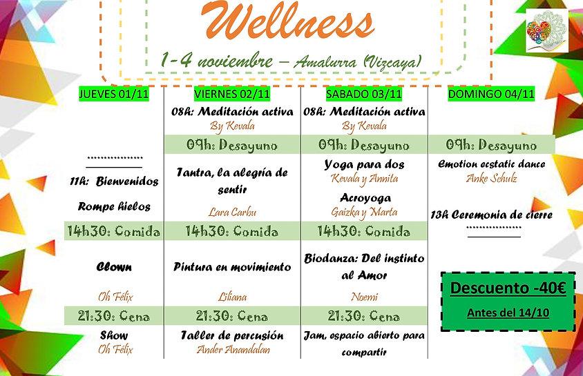 programa wellness festial