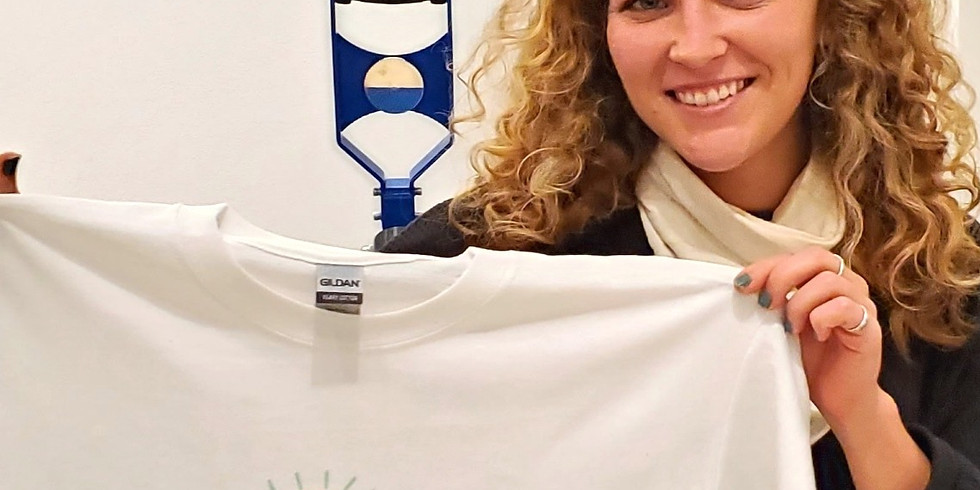 Drop In + Make: Your Own T-Shirt!