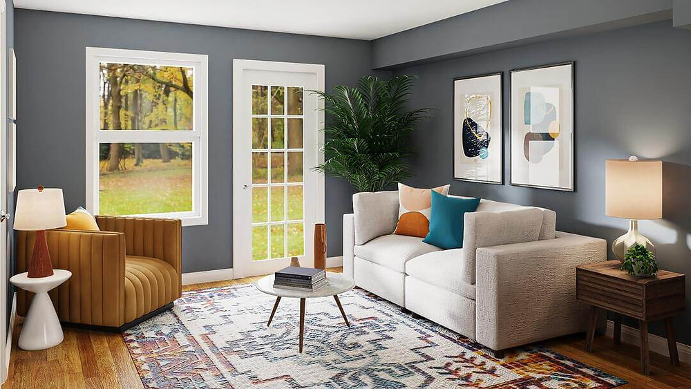3D Home staging - Light And Shadows