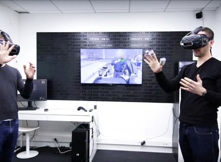 Remote collaboration in VR with INTERACT