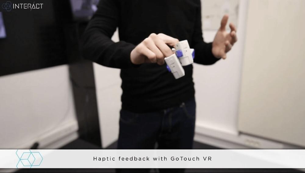 Haptic feedback - Light&Shadows