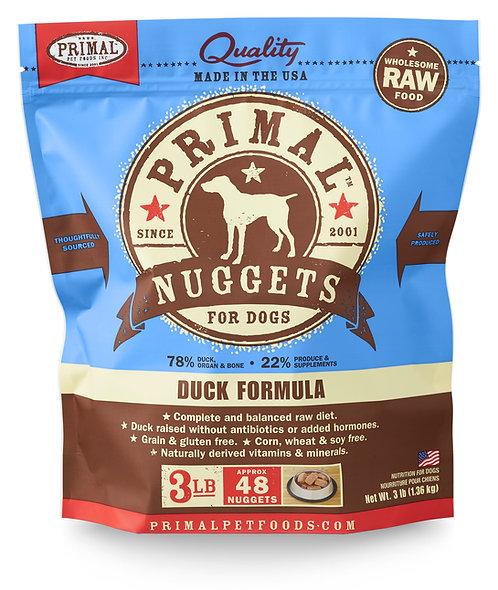 Primal Frozen Raw Duck Nuggets