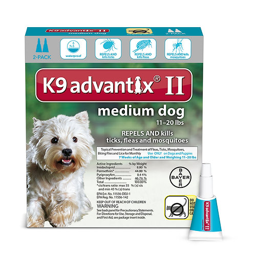 K9 Advantix II for Medium Dogs