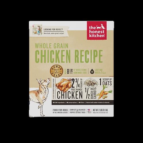 The Honest Kitchen Whole Grain Chicken Recipe 10lbs