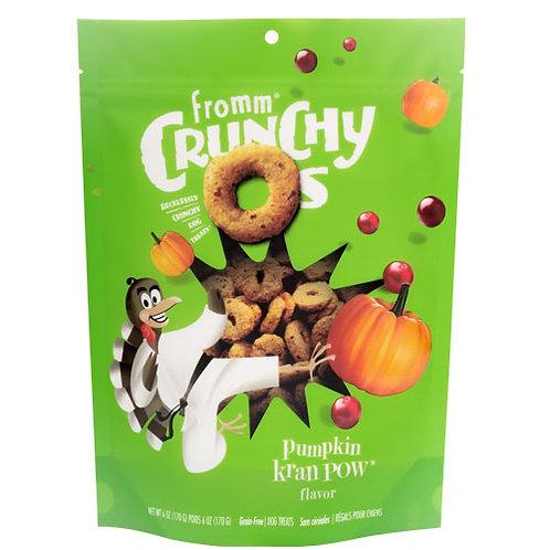 Fromm Crunchy O's Pumpkin Kran Pow Flavor