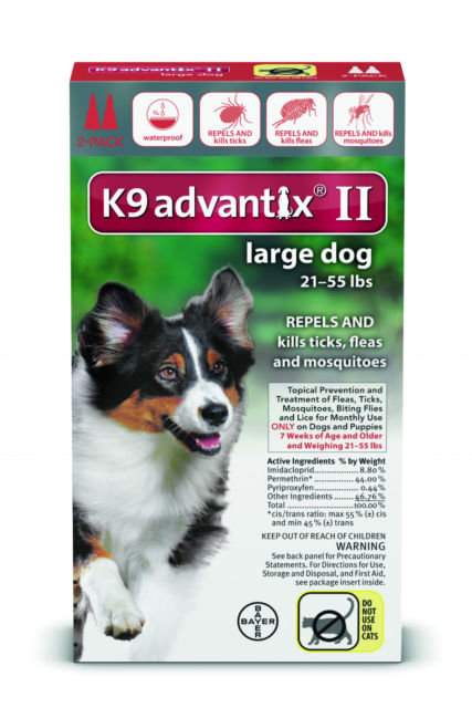 K9 Advantix II for Large Dogs