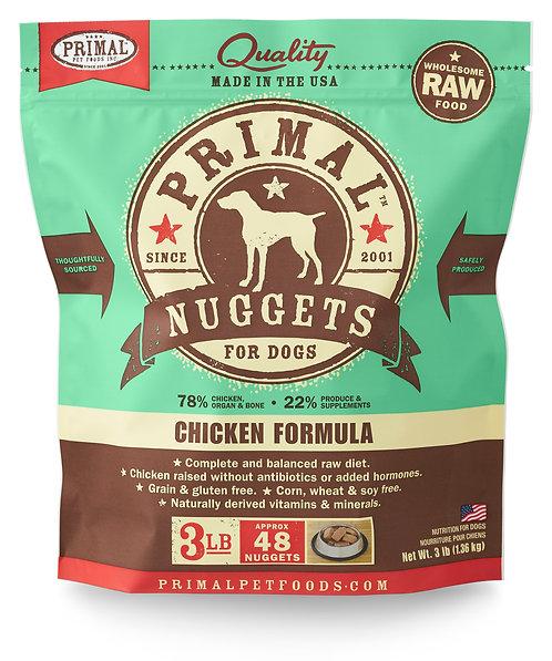 Primal Frozen Raw Chicken Nuggets