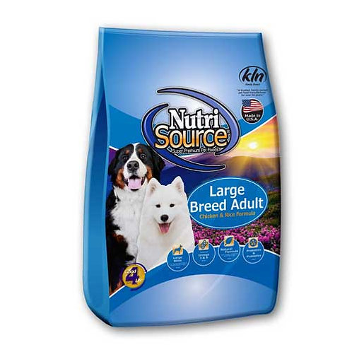 Nutri-Source Large Breed  Chicken & Rice Formula