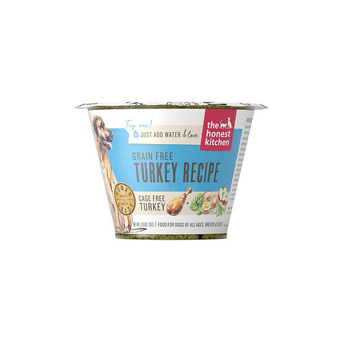 The Honest Kitchen Grain Free Turkey Recipe 1.75oz