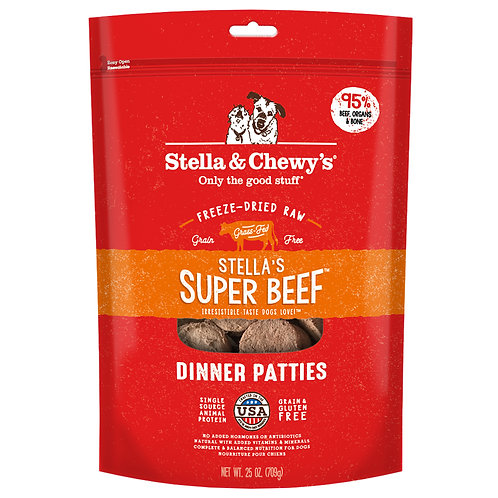 Stella & Chewy's Freeze Dried Super Beef Dinner