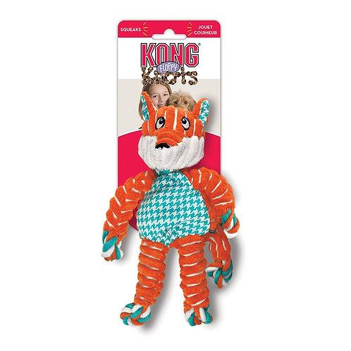 Kong Floppy Knots- Fox