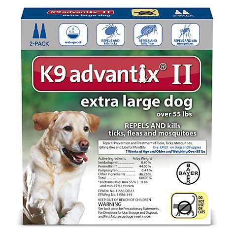K9 Advantix II for Extra Large Dogs