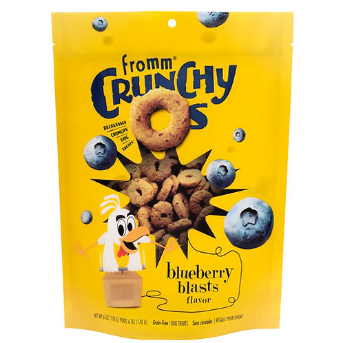 Fromm Crunchy O's Blueberry Blasts Flavor