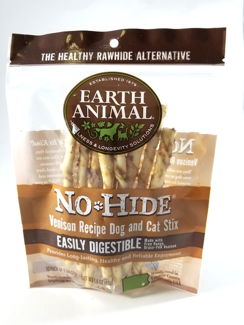 Earth Animal No Hide Venison Stix