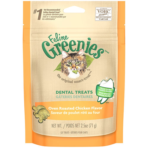 Feline Greenie's Oven Roasted Chicken Flavor