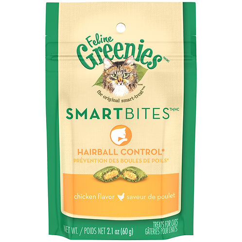 Feline Greenie's Smartbites for Hairball Control