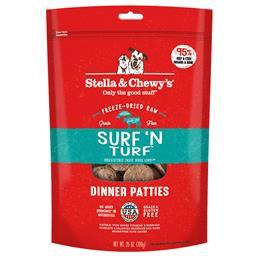 Stella & Chewy's Surf & Turf Freeze Dried 14oz