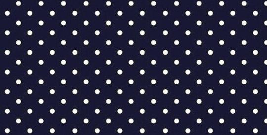 Lençol - Poá Azul Marinho