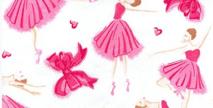Lençol - Bailarina Rosa