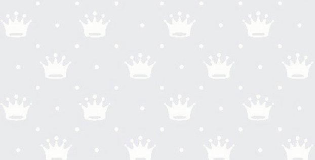 Lençol - Coroa Branca com Cinza