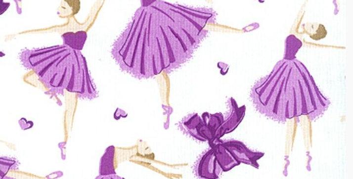Lençol - Bailarina Lilás