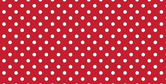 Lençol - Poá Vermelho