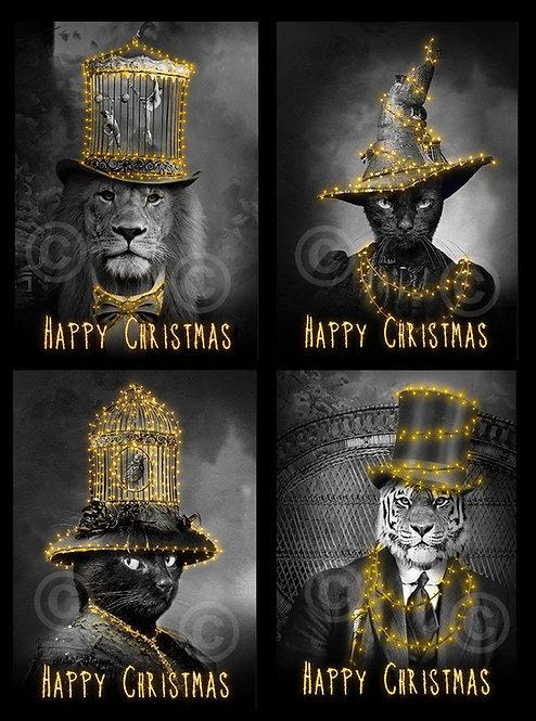 4 x Christmas Cards