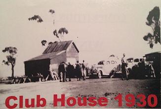 Wallaroo Golf Club 1930