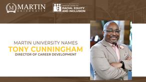 Martin University Names Tony Cunningham as Director of Career Development