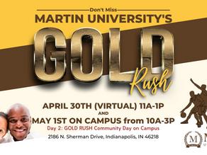 Martin University's Gold Rush Community Day
