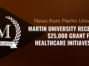 Martin University Receives Grant From HealthCare Initiatives Inc.