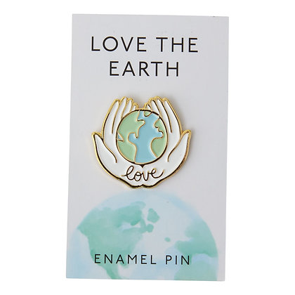 Love the Earth Pin
