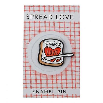 Spread Love Pin