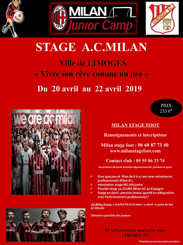 Affiche LIMOGES Avril 2019 6 eme version