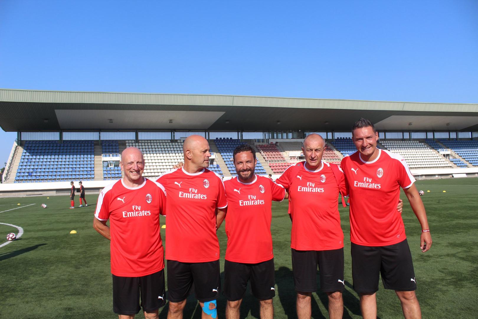 Entraineurs Milan AC