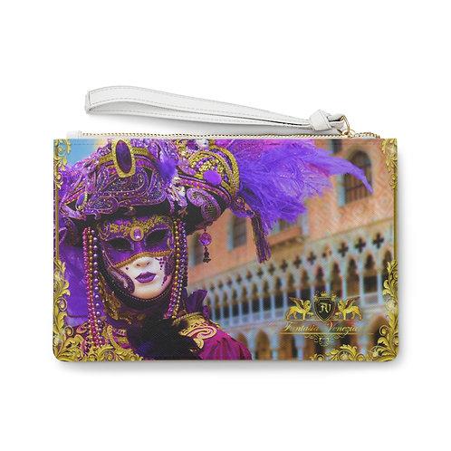 Fantasia Veneziana Clutch Bag