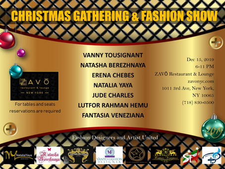 Fashion is in the Air, December 15 Save the date!