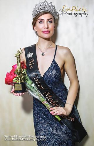 Fantasia Veneziana Ms Cover Model  of 2018/19