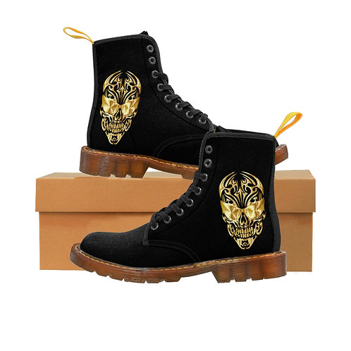 Men's Skull Boots