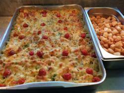 macaroni and tarragon tomato bake