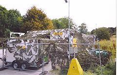 camo truck film catering