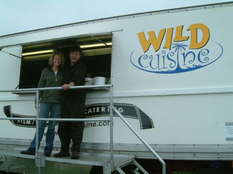 kate humble on location