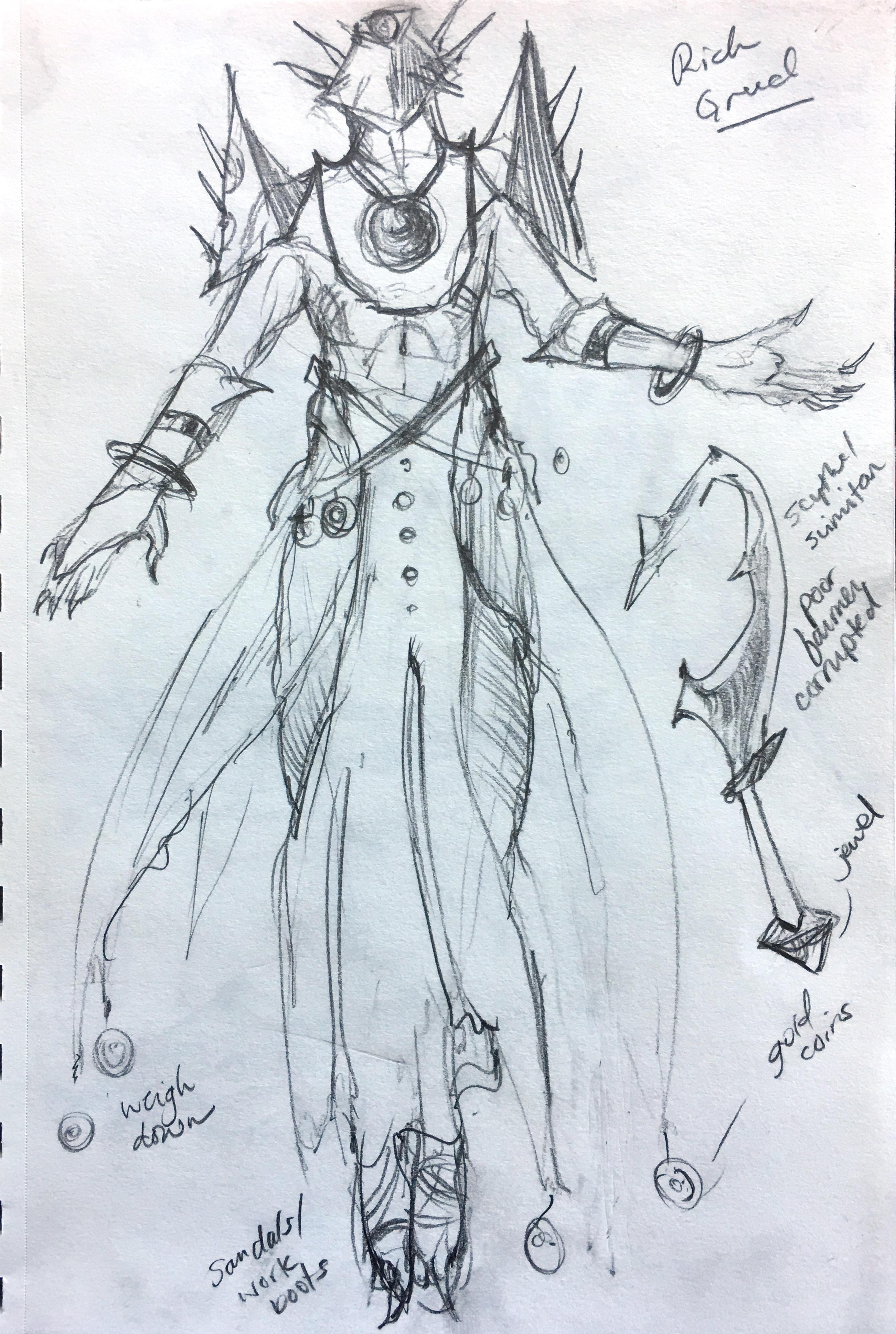 Percival concept sketch