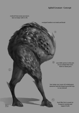 Bipedal Creature Concept