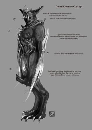 Guard Creature Concept