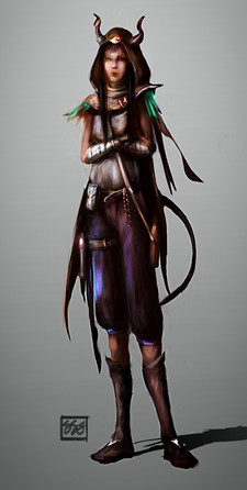 Eva Concept - Character from Old Spire