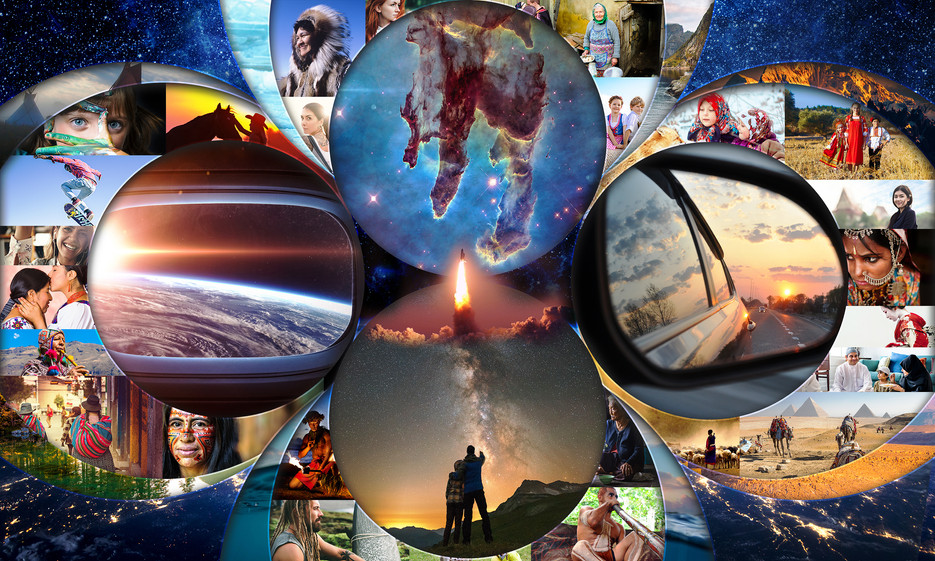 Place in the Cosmos Collage