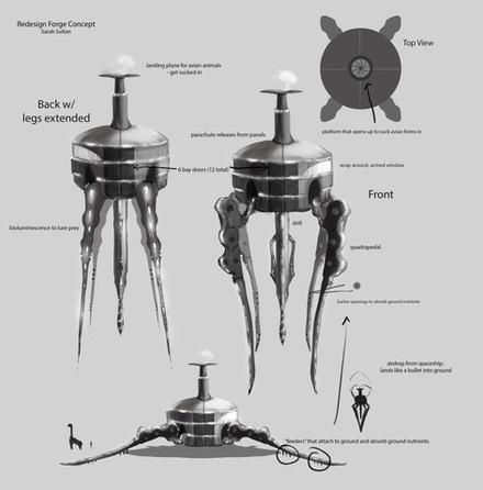 Alien Forge Concept