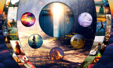 New Age Faith and Belief Collage