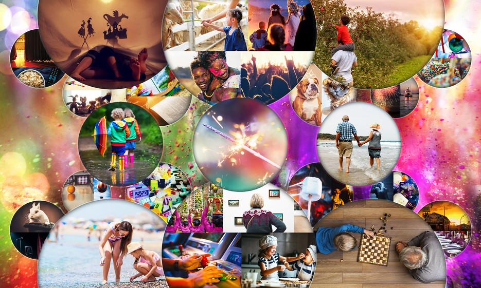 Entertainment Collage